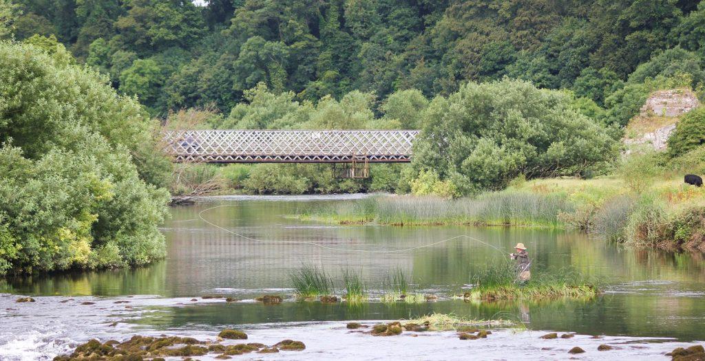 La pêche à la mouche à Oldbridge, 35 minutes de route de Dublin