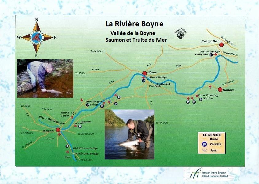 Boyne Map en FRANCAIS