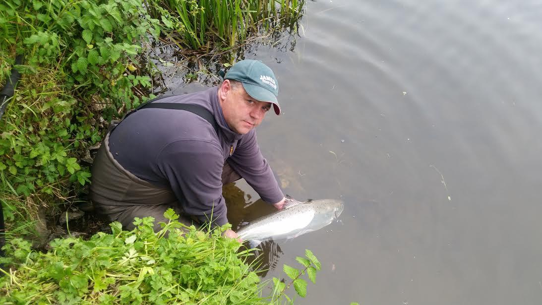 La remise à l'eau est obligatoire sur la rivière Boyne