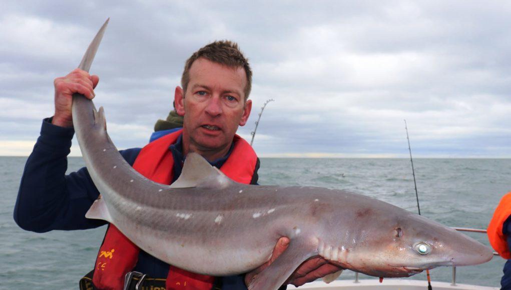 Le gros de 8.8kg, plus de 4 'long, 47cm de circonférence. #CPRsavesfish Capture de la semaine