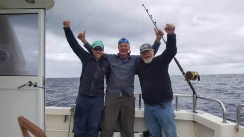 Des pêcheurs contents !