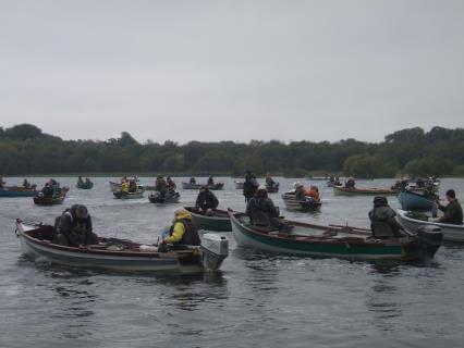 Tous au point de départ - Concours de pêche à la truite LSTPA, le 5 octobre
