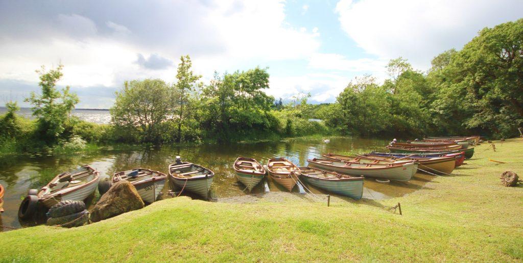 Les barques irlandaises
