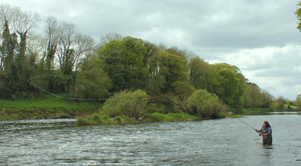 La peche du saumon en Irlande
