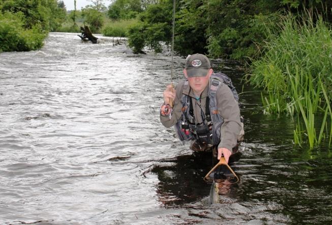 La pêche à la mouche sur les rivières Irlandaises