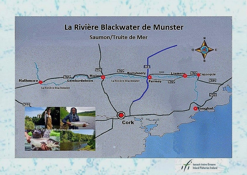 Blackwater de Munster Carte