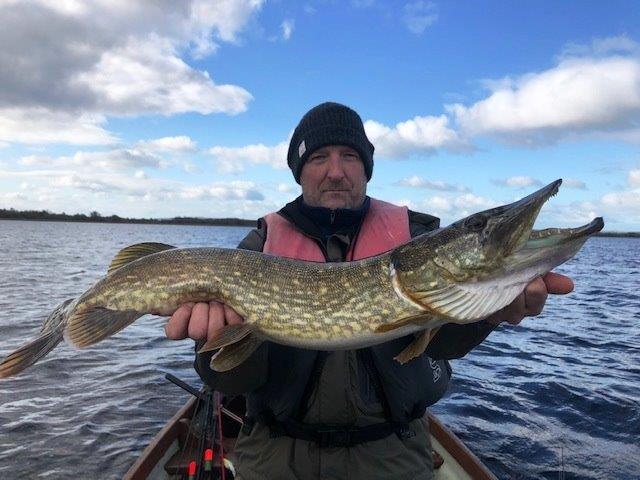 La pêche du brochet en Irlande, comte de Longford