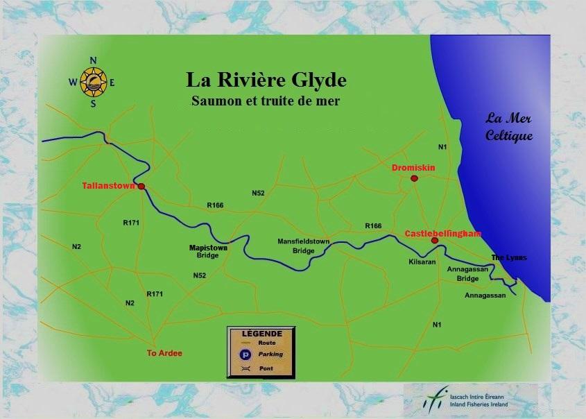 La pêche du saumon sur la rivière Glyde