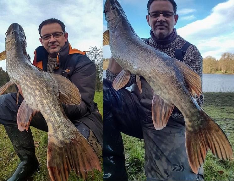 Trois bons sessions de pêche pour Olivier Maniez