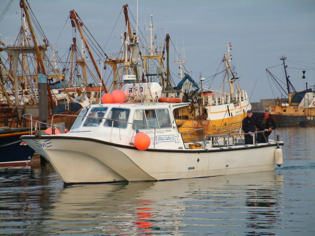 Les bateaux charter sont disponible sur toutes les cotes de l'Irlande