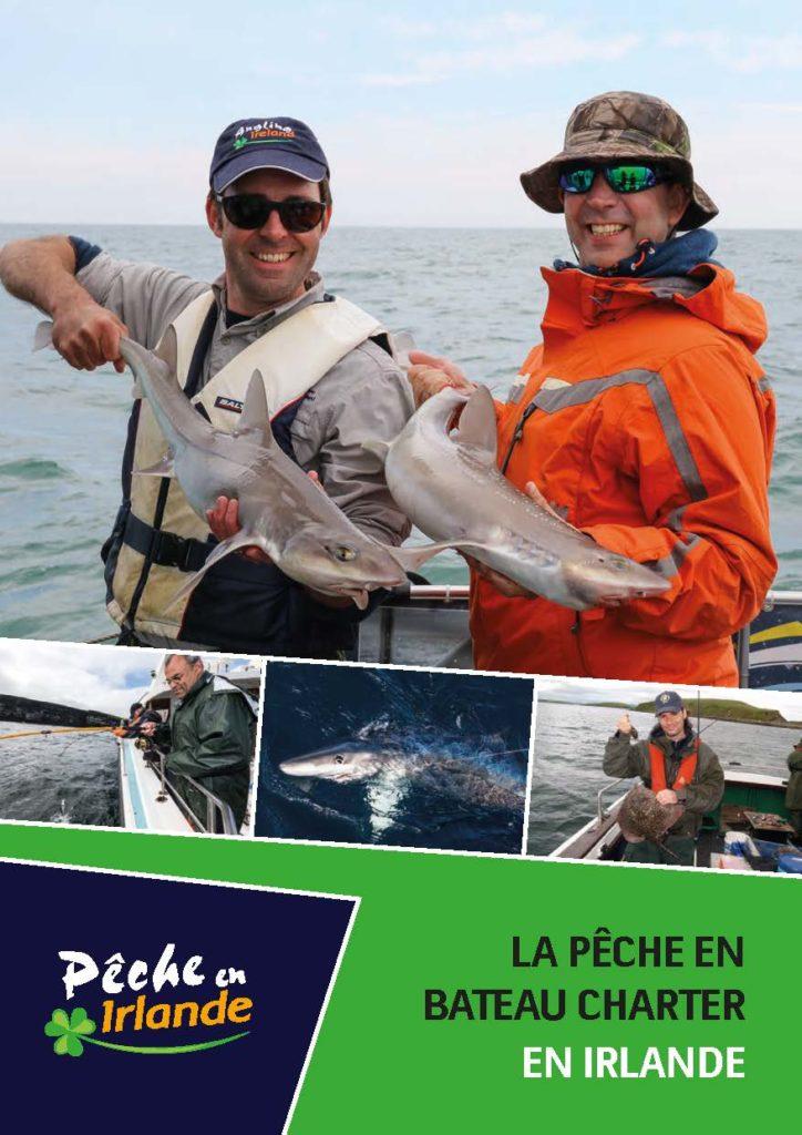 La peche en mer en bateau charter en Irlande