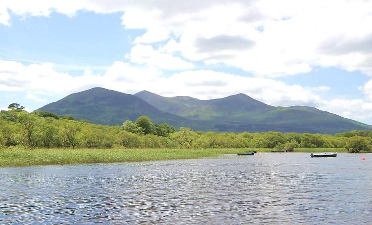La pêche en Irlande dans un paysage magnifique