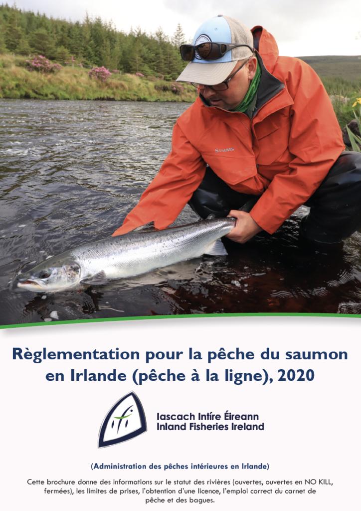 Reglementations pour la peche du saumon en Irlande