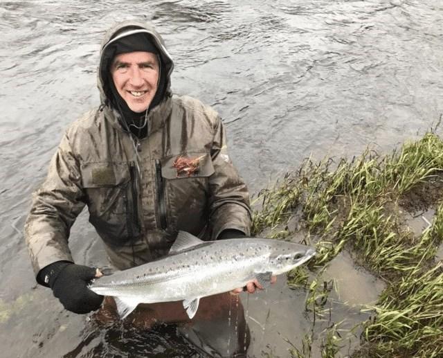 Ce poisson était remis soigneusement a l'eau