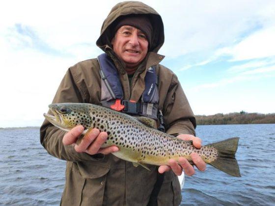 Une autre belle truite de Lough Sheelin pour Pascal