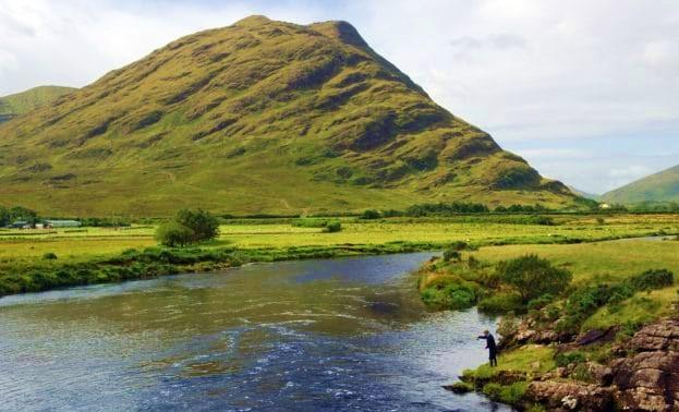 Les parcours de pêche sur la rivière Erriff Beat #5