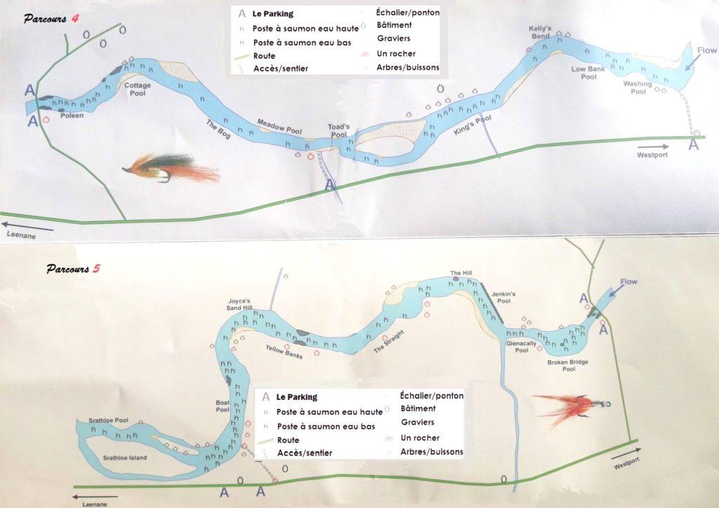 La rivière Erriff, parcours 4 et 5
