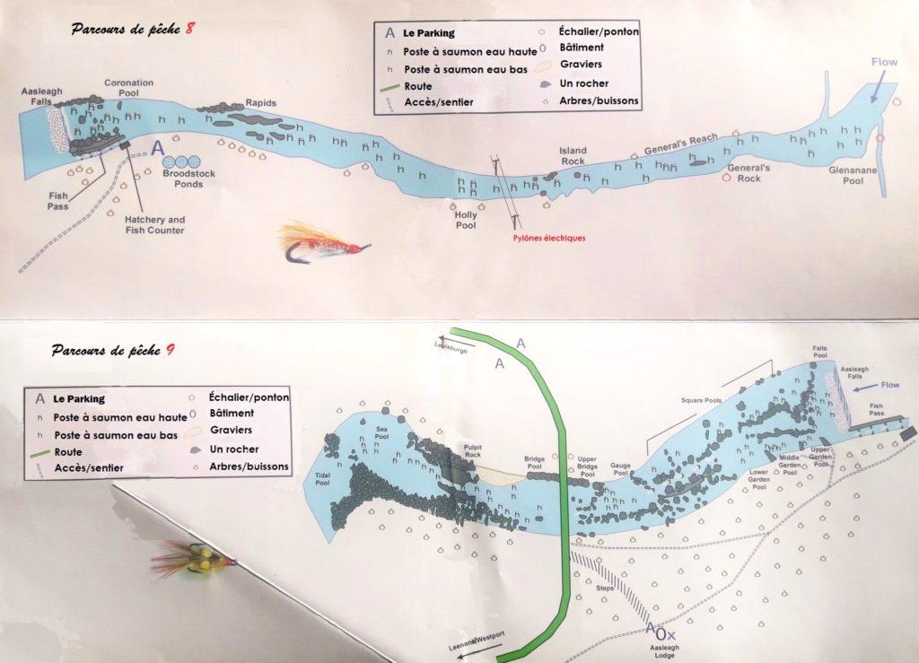 La rivière Erriff parcours 8 et 9