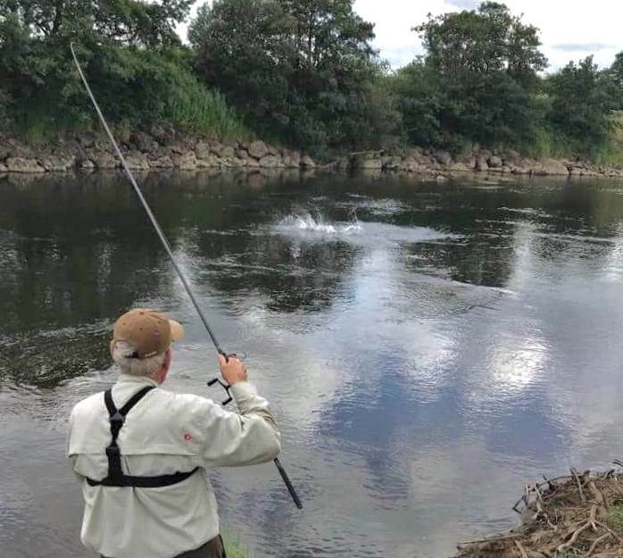 La pêcherie de Foxford sur la rivière Moy