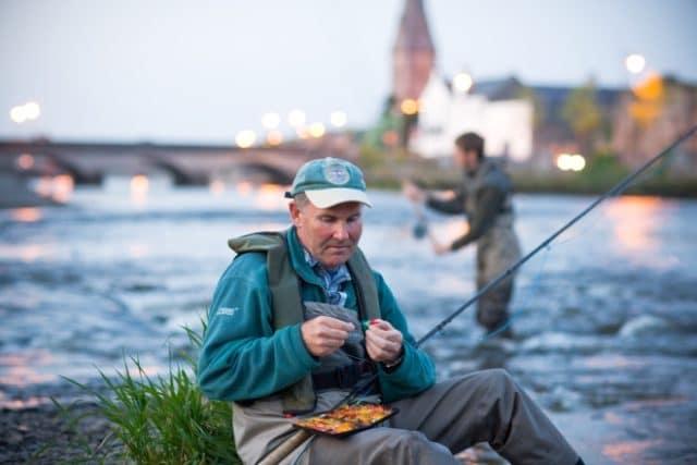 Ballina est la capitale de la pêche du saumon en Irlande