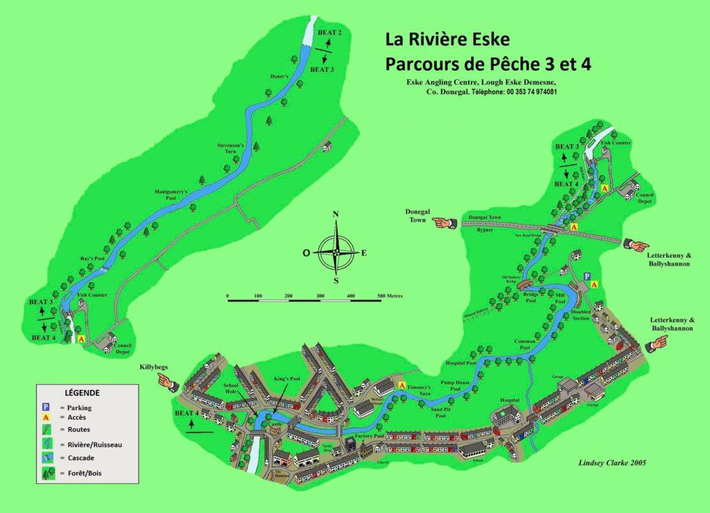 Carte d'Eske, Parcours 3 et 4