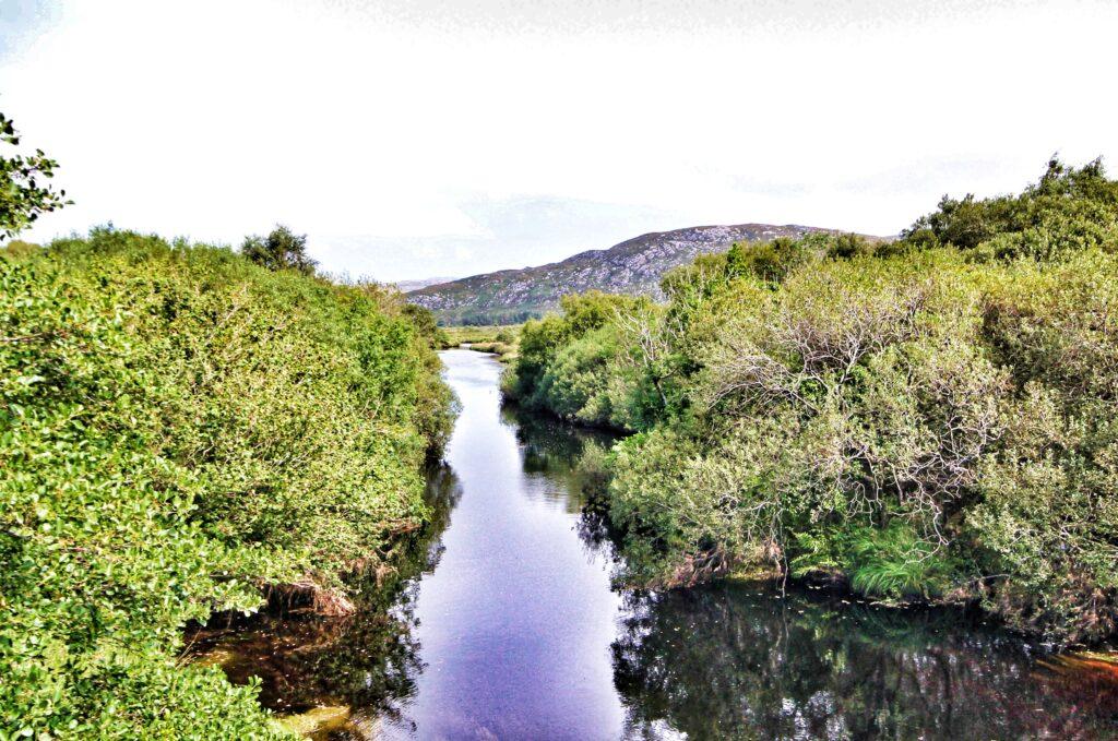 L'Owencarrow est une partie des pêcheries de Lackagh dans le Donegal