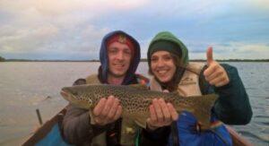 La peche de la truite en Irlande, Lough Carra