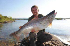 La peche de la truite en Irlande, Lough Corrib