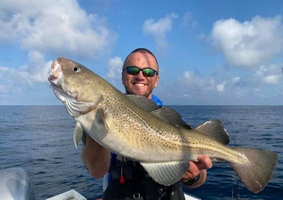 La pêche en mer au large sur les épaves d'Irlande