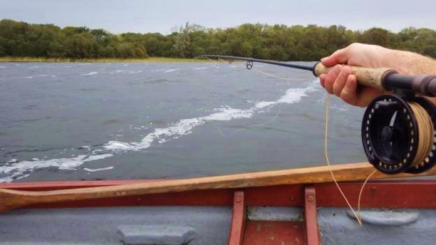 Une bonne dérive sur le Lough Sheelin