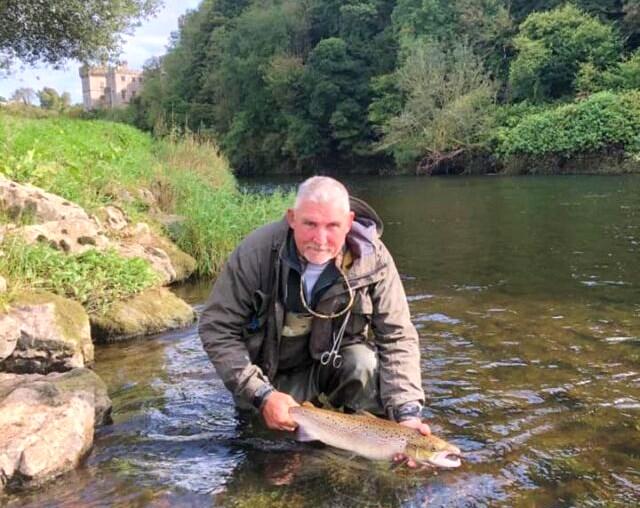 La pêche du saumon en Irlande, Blackwater de Munster au sud du pays.