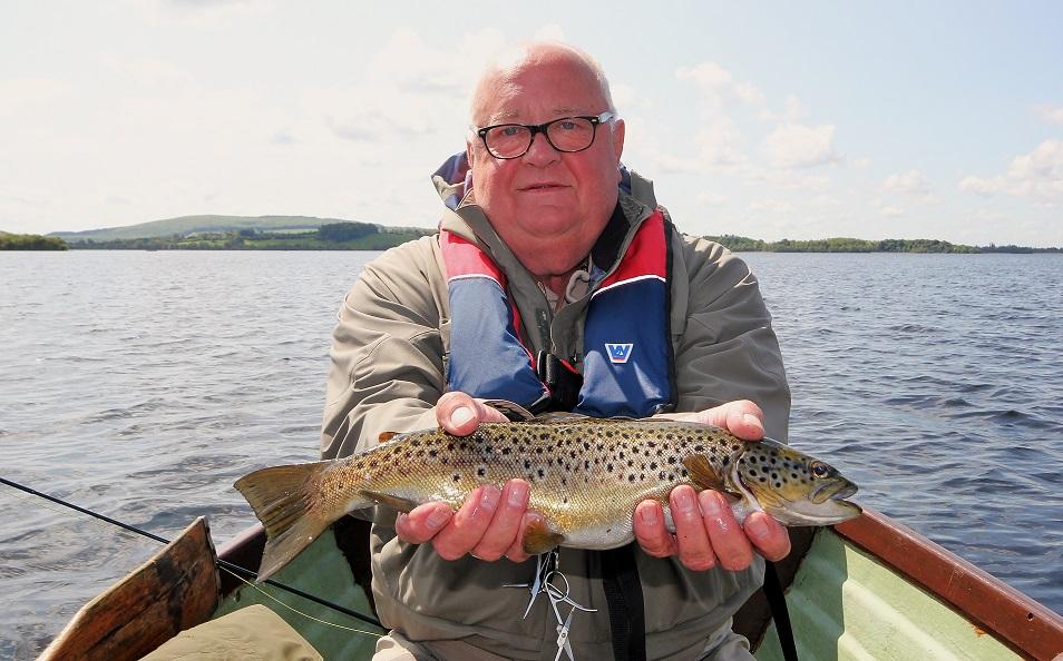 La pêche de la truite en Irlande sur le Lough Sheelin