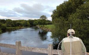 La pêche en Irlande. la rivière Laune