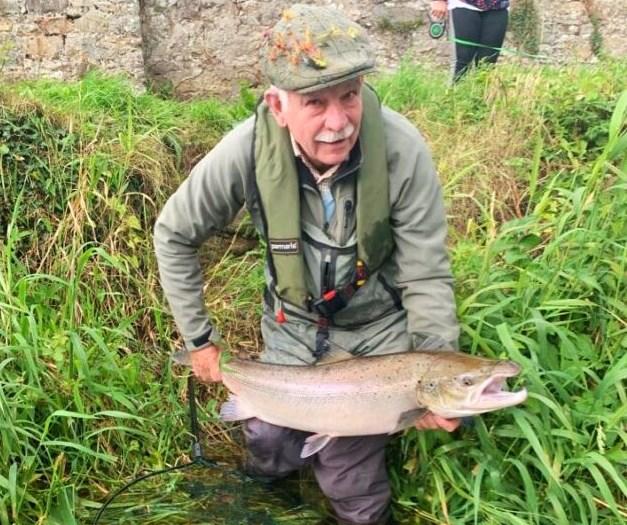 La pêche en irlande, saumon de la rivière Suir