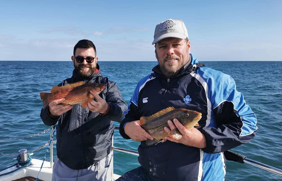 Pêche en mer dans le Wicklow