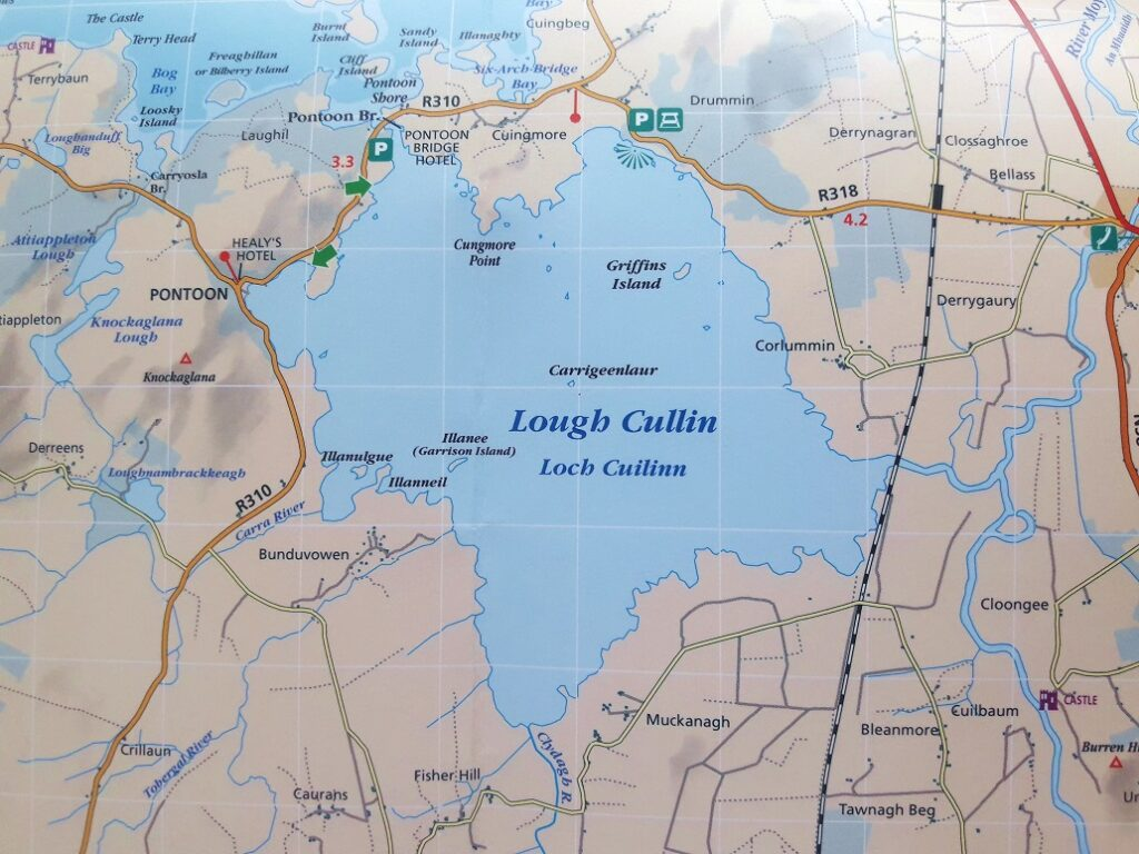 La peche en Irlande, Lough Cullin.