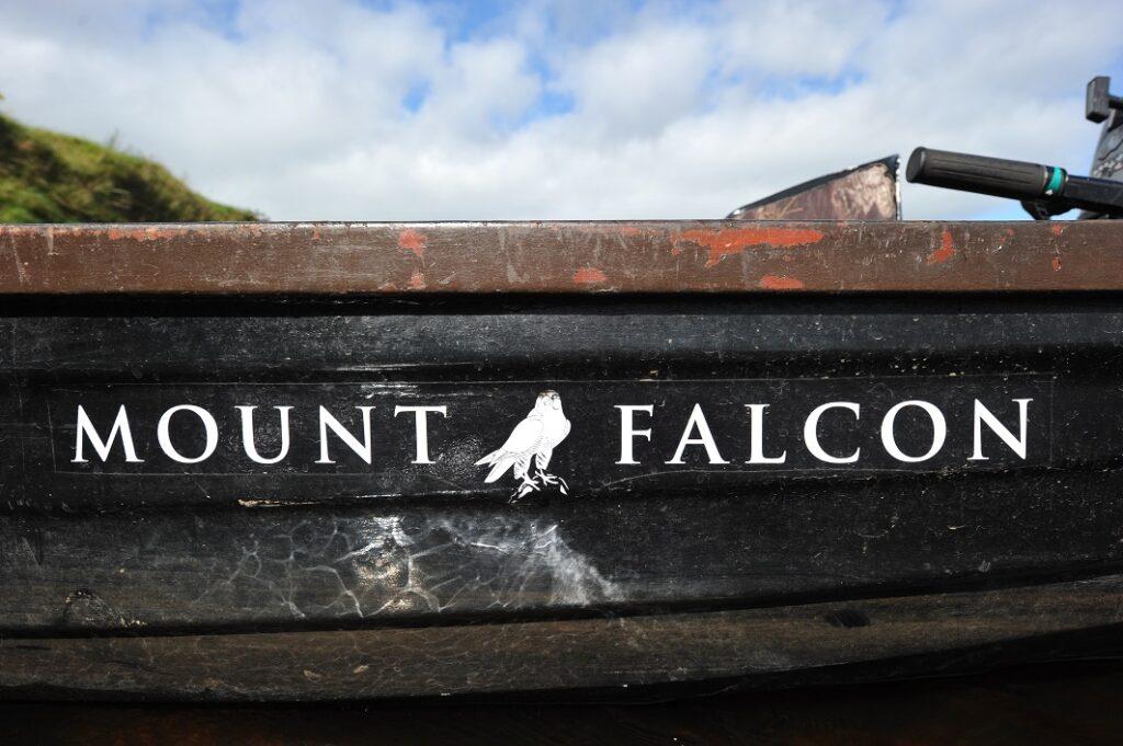 Mount Falcon sur la rivière Moy, Irlande
