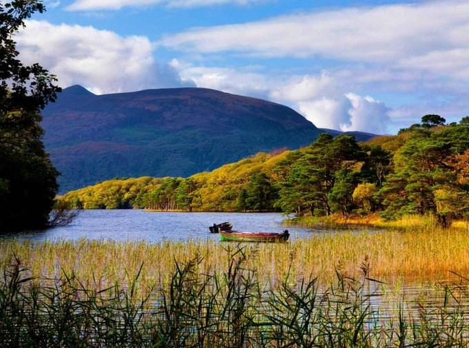 La peche en Irlande dans le Killarney
