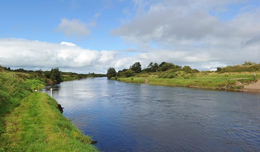 La belle rivière Moy, Irlande