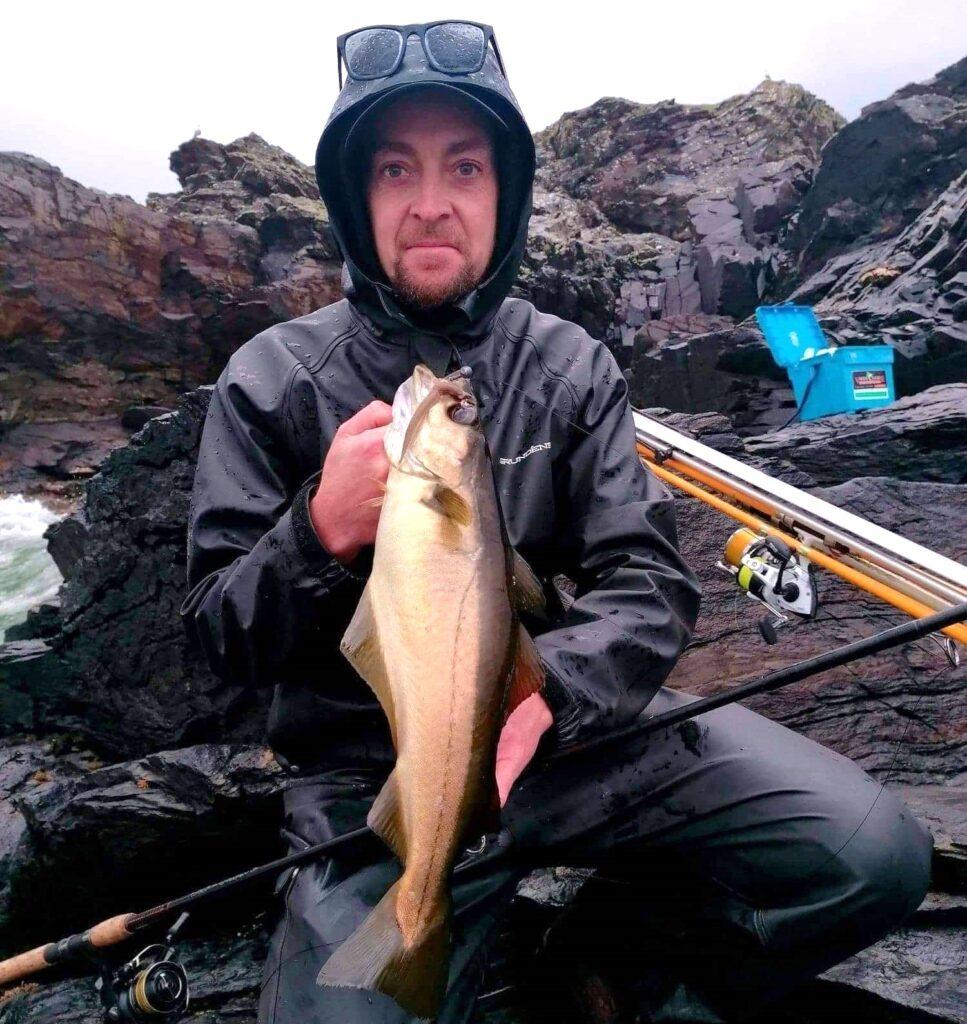 La pêche des vieilles en mer en Irlande dans le Donegal