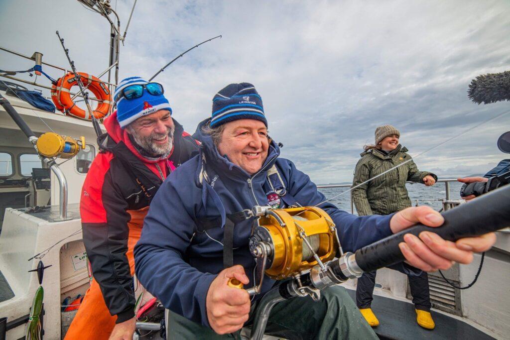 La pêche du thon rouge en Irlande dans le Donegal