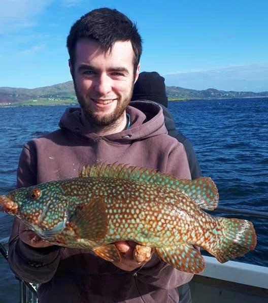 Pêche en mer en Irlande dans le Donegal