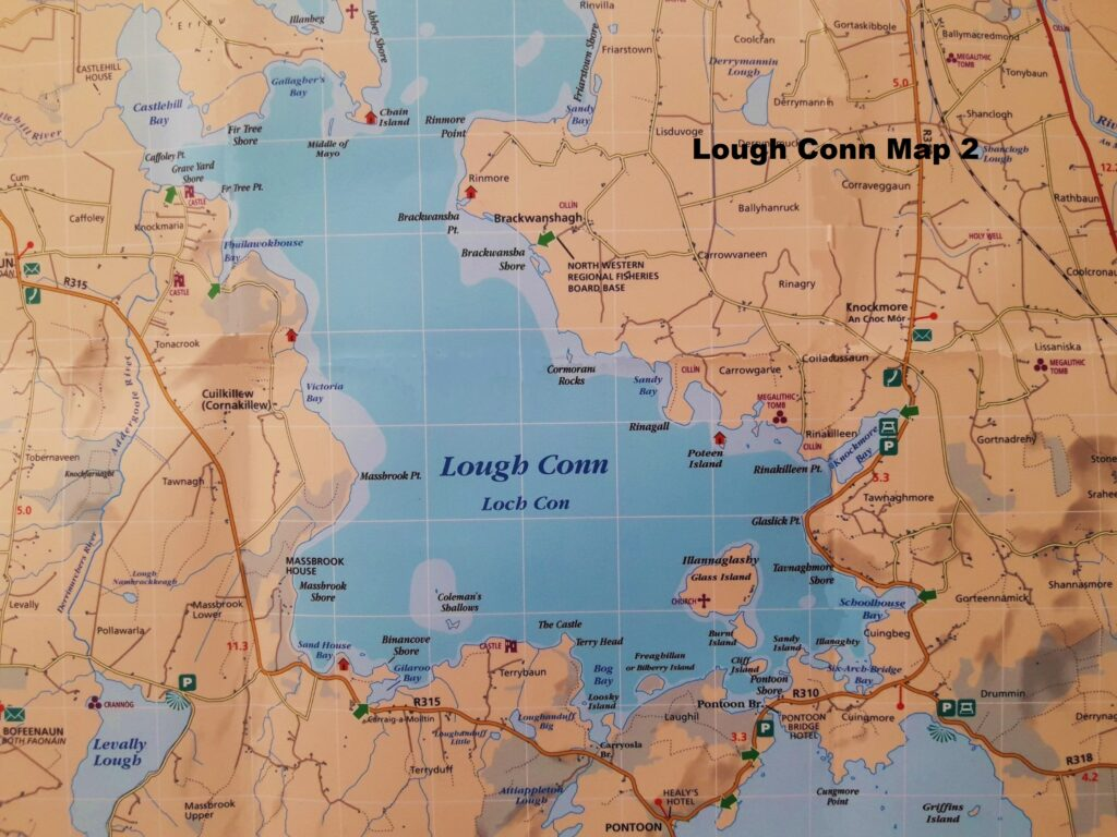 La pêche en Irlande, Lough Conn