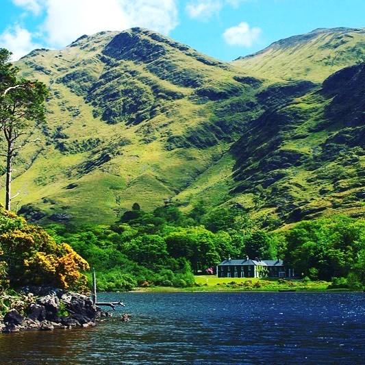 La pêche en Irlande, Delphi Lodge.