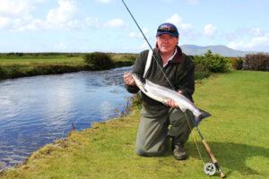 La pêche du saumon en Irlande, la rivière de Waterville y inclus le Butlers Pool