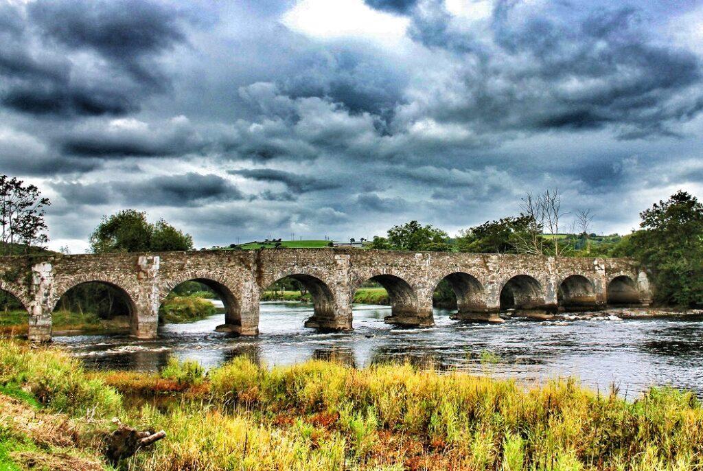 La pêche en Irlande, rivière Lee inférieure.