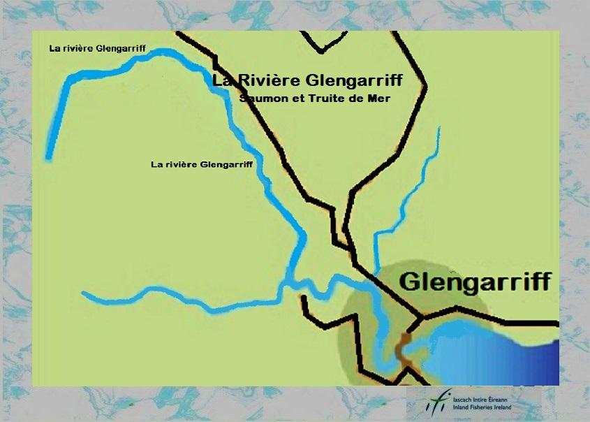 La pêche en Irlande, le rivière Glengarriff