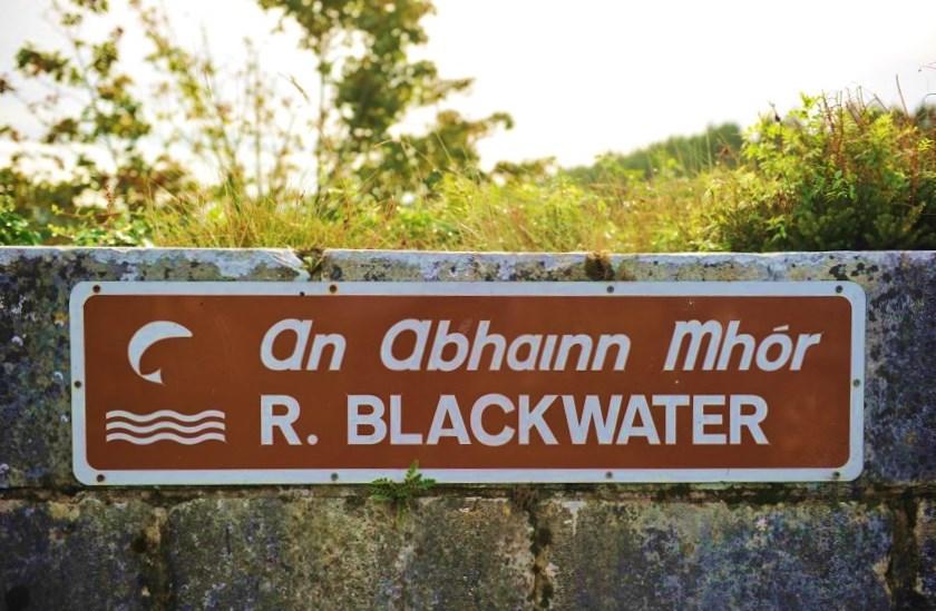 La rivière Blackwater de Munster, Cork, Irlande.