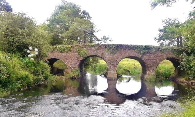Pont de Cappogue, rivière Dee Irlande