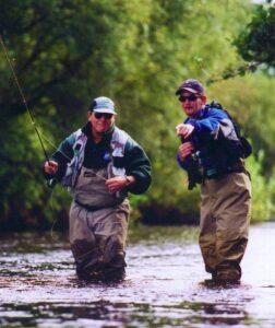 La pêche en Irlande, guidage
